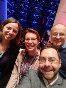 L'équipe Louvain moocXperience | edX Global Forum 2018